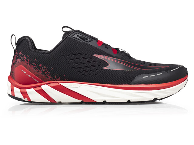 Altra Torin 4 Chaussures de trail Homme, black/red